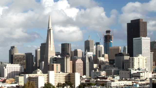 San Francisco Downtown View - Loop-ready. video