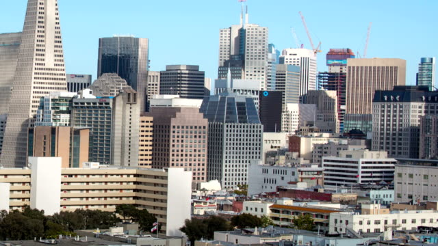 San Francisco Downtown View video
