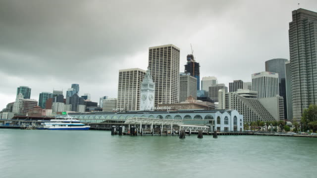 San Francisco Ferry Building - zoom in video