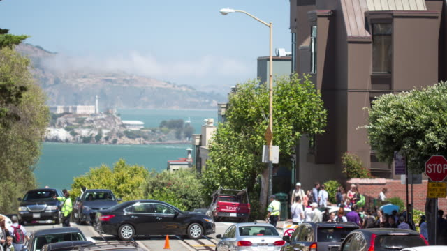 San Francisco - Hyde & Lombard Street video