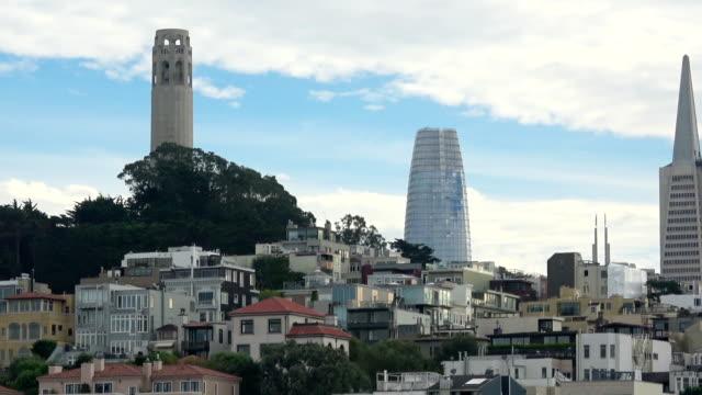 San Francisco New Emerging Downtown Skyline video