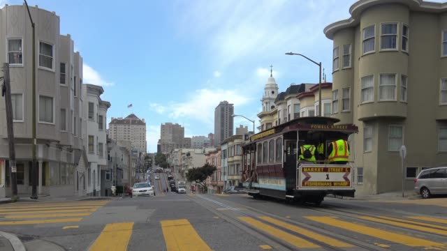 san francisco north beach architecture - victorian architecture stock videos & royalty-free footage