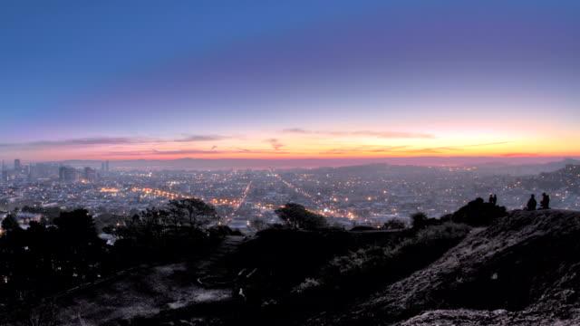 San Francisco Panoramic Sunrise video
