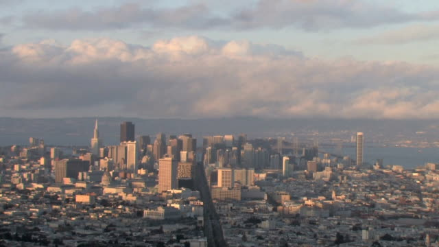 San Francisco Skyline Day to Night Time Lapse video