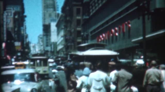 San Francisco Trolley 1959 video