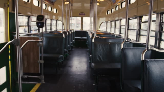 San Francisco Trolley Interior