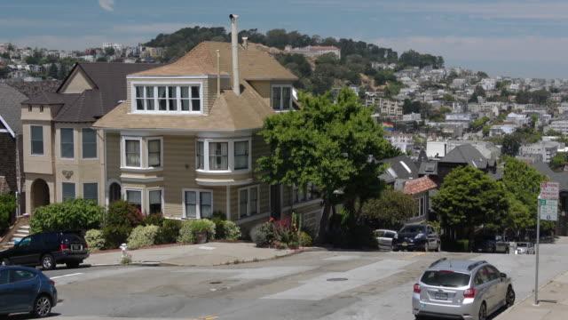 San Francisco Victorian Architecture Victorian Homes in Noe Valley victorian architecture stock videos & royalty-free footage