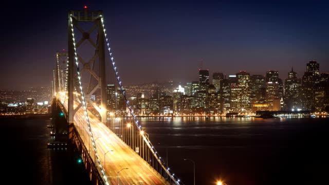 San Francisco's Bay Bridge Time-Lapse video