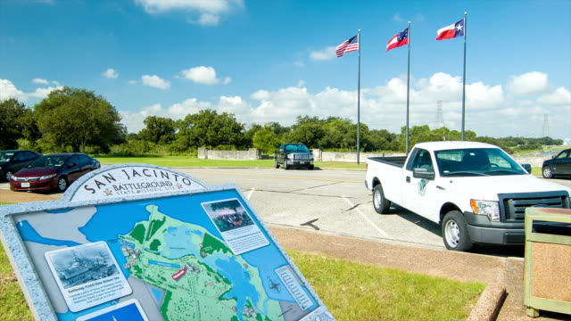 San Jacinto Battleground Visitors Information Signage