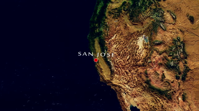 San Jose 4K  Zoom In video