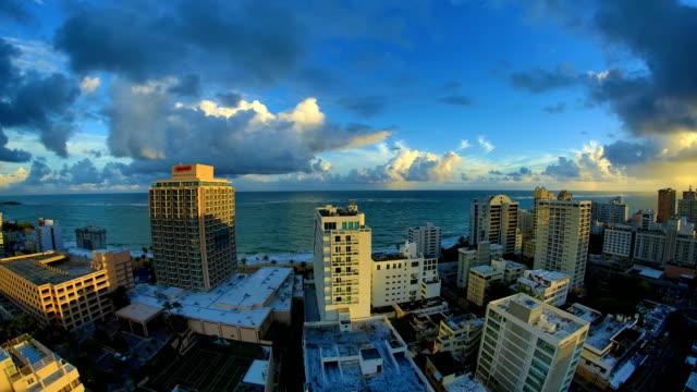 San Juan, Puerto Rico 4K 30P San Juan, Puerto Rico time lapse and real-time footage series. puerto rico stock videos & royalty-free footage
