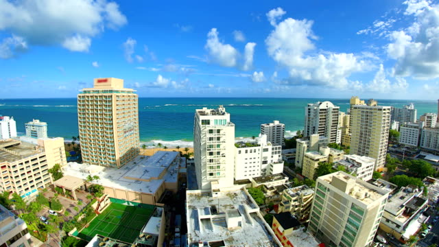 San Juan, Puerto Rico 4K 30P San Juan and Puerto Rico travel concepts puerto rico stock videos & royalty-free footage