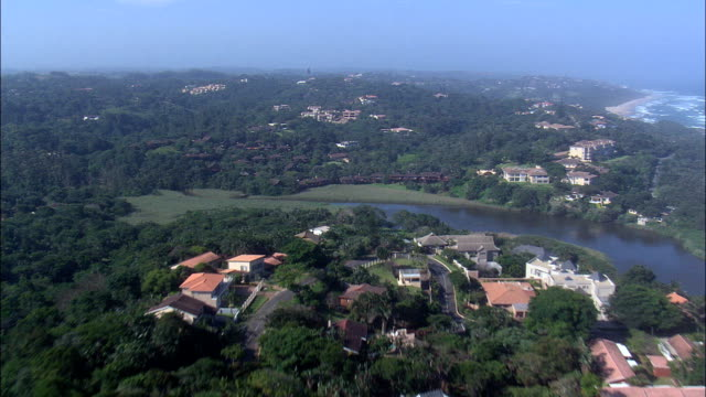San Lameer To Ramsgate  - Aerial View - KwaZulu-Natal,  Ugu District Municipality,  Hibiscus Coast,  South Africa This clip was filmed by Skyworks on HDCAM SR 4:4:4 using the Cineflex gimbal. KwaZulu-Natal,  Ugu District Municipality,  Hibiscus Coast South Africa natal stock videos & royalty-free footage