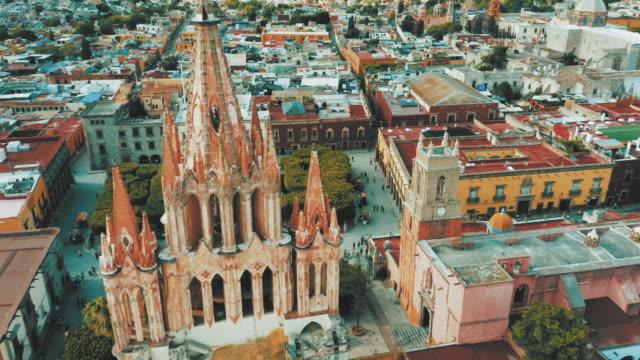 San Miguel de Allende, Mexiko. – Video