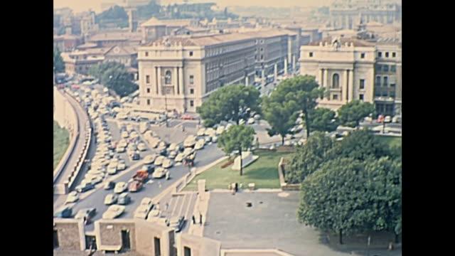 San Pietro Rome Skyline