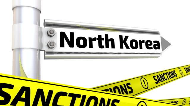 Sanctions against North Korea. Concept video