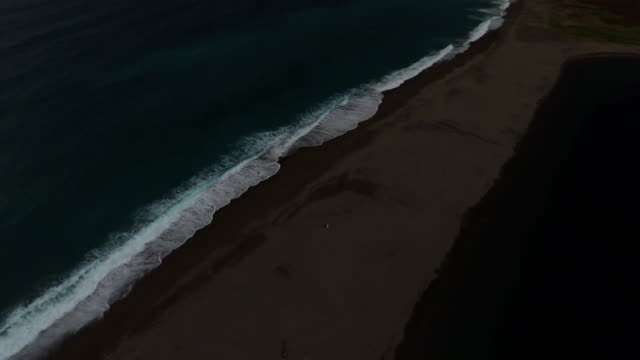 Sand Beach With Unidentified Couple video