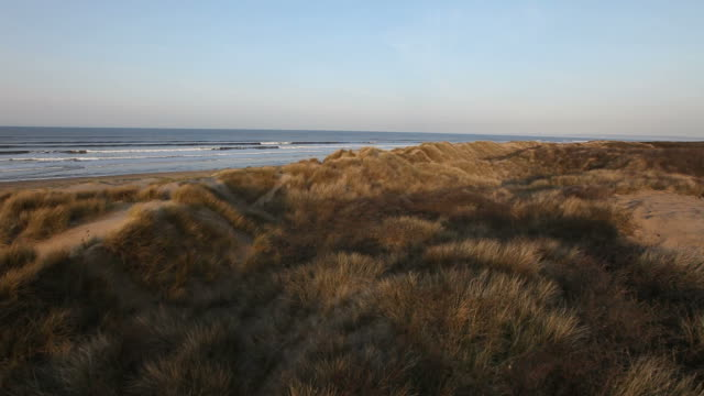 Sand dune heath helicopter buzz video