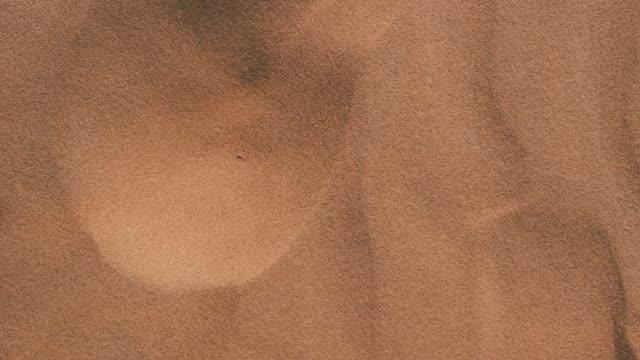 vídeos de stock e filmes b-roll de sand dunes in the desert - sand