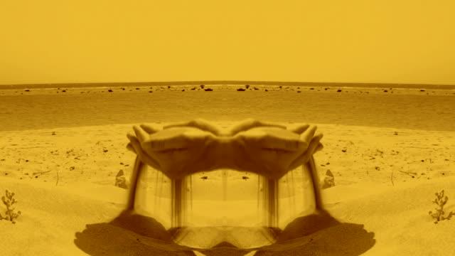 sand hands - surrealistisk bildbanksvideor och videomaterial från bakom kulisserna