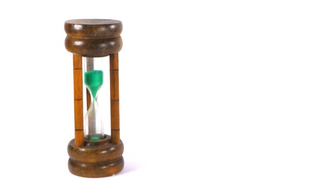 sand hourglass timer video