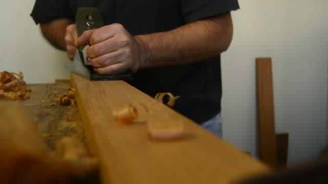 Sanding wood video