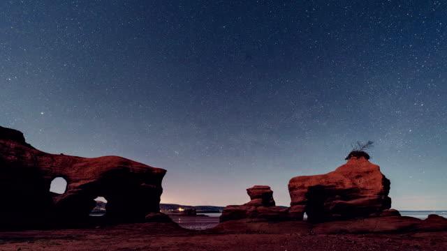 sandstone shores - rock formations stock videos & royalty-free footage