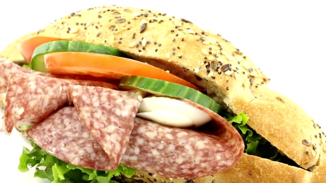 stockvideo's en b-roll-footage met sandwich - sandwich