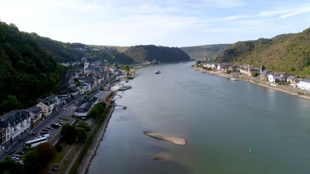 Sankt Goar und St. Goarshausen im Oberen Mittelrheintal – Video