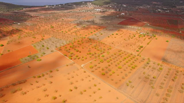 Santa Agnès de Corona - Aerial view video