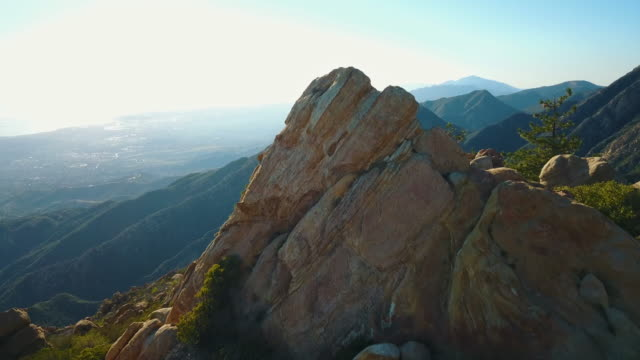 Santa Barbara Mountains Aerial