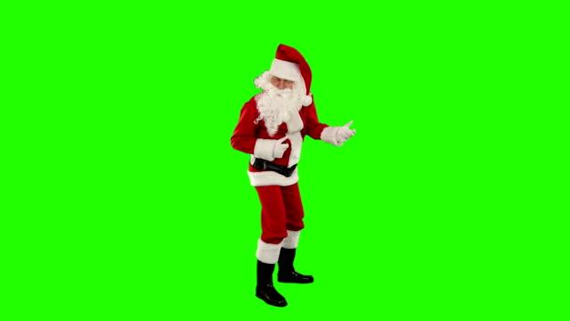Santa Claus Dancing isolated, Dance 3, Green Screen video