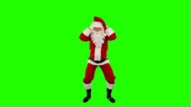 Santa Claus Dancing isolated, Dance 8, Green Screen video