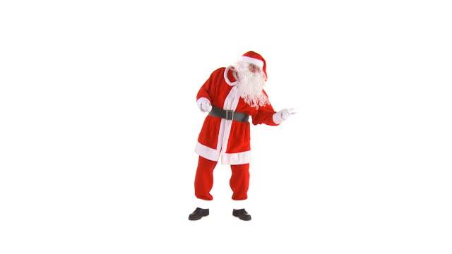 HD: Santa Claus Dancing video