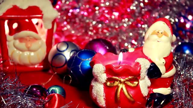 Santa Claus decoration video