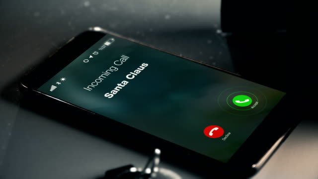 Santa Claus is Calling as a missed call