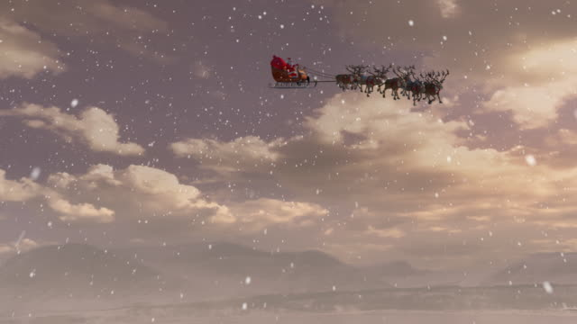 santa claus - rentier stock-videos und b-roll-filmmaterial