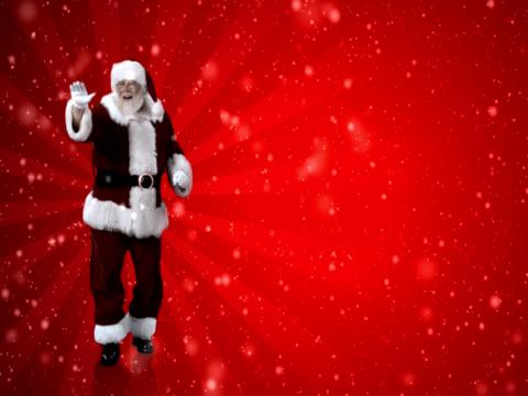 NTSC - Santa Dances Merrily video