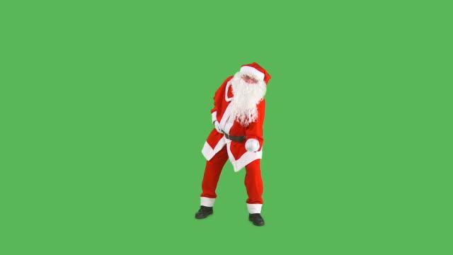 HD: Santa Dancing video