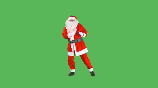 hd: santa dancing - jultomte bildbanksvideor och videomaterial från bakom kulisserna
