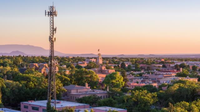 Santa Fe, New Mexico, USA Cityscape