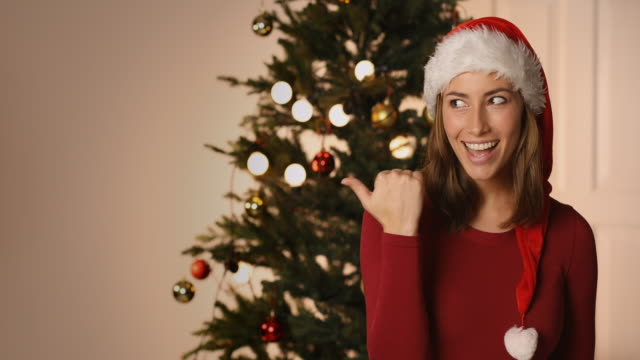 Santa girl has a secret video