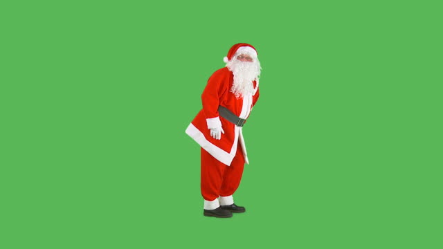 hd: santa going shh - på tå bildbanksvideor och videomaterial från bakom kulisserna