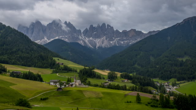 Santa Maddalena village, Dolomites video