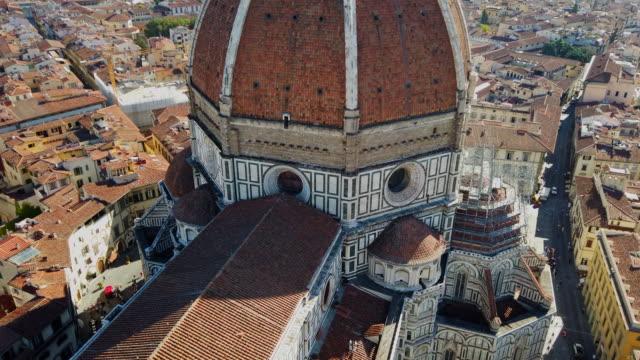 Santa Maria del Fiore Cathedral Duomo Santa Maria del Fiore, Florence - Italy cathedrals stock videos & royalty-free footage