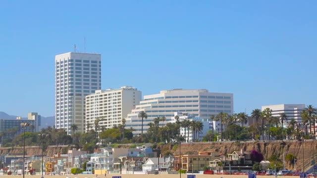 Santa Monica Beach, Los Angeles, California video