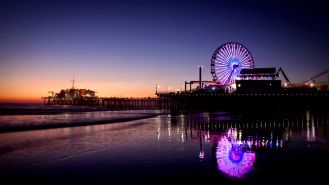 Santa Monica Pier, Los Angeles video