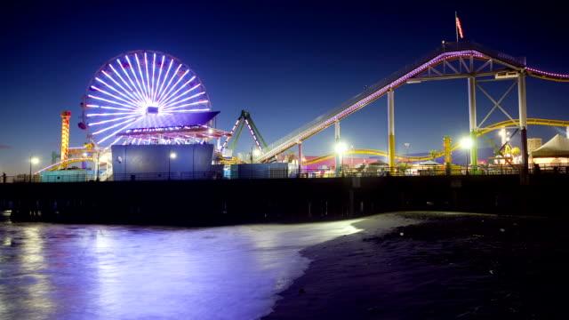 Santa Monica Pier, Time Lapse video
