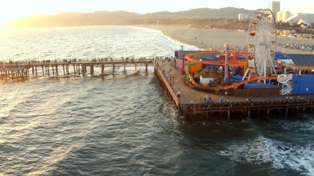 Santa Monica Pier video