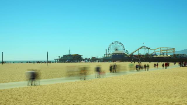 Santa Monica Timelapse HD Video video